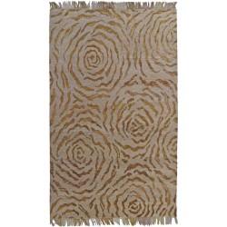 Designer Teppich Sandrose